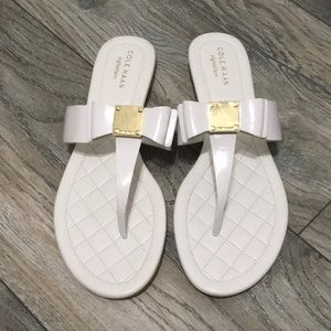 Cole Haan - Tali bow sandals- optic white